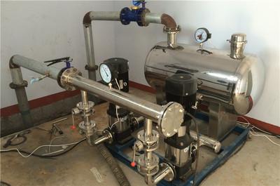 恒达无负压供水设备